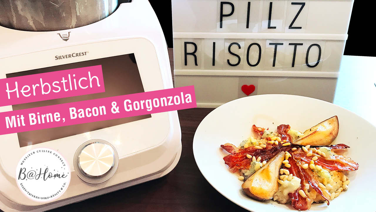 risotto birne gorgonzola